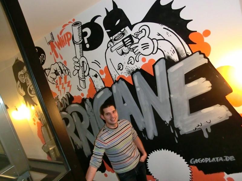 graffiti weinmeister hotel
