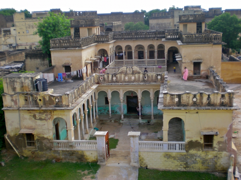 haveli Mandawa india rajasthan