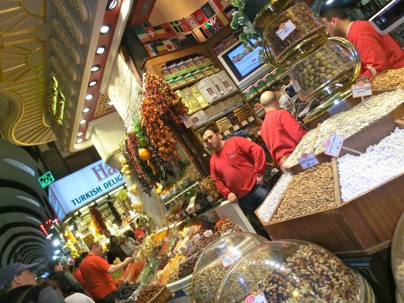 Spezie mercato istanbul