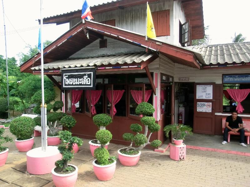 stazione ferroviaria Thailandia