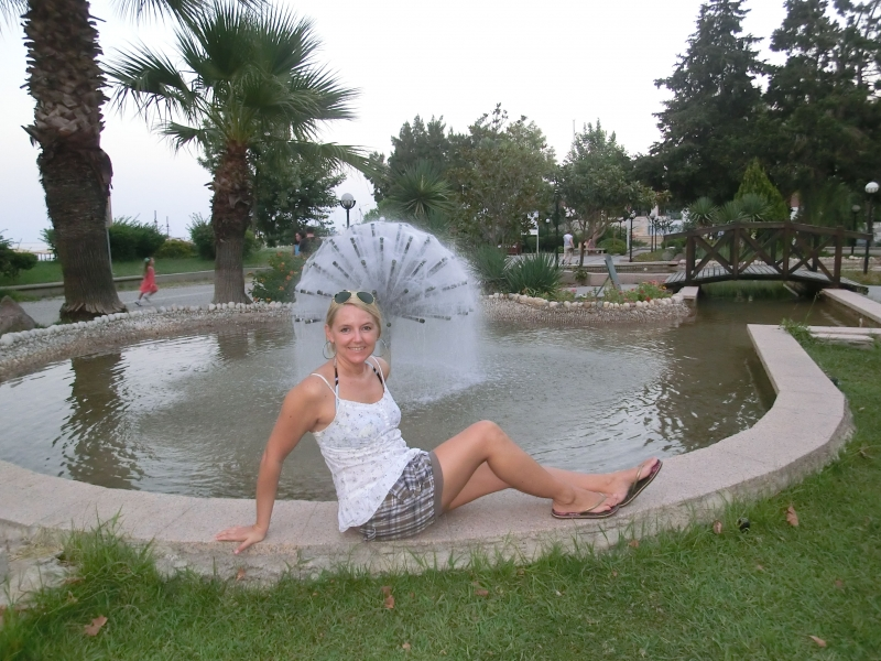 kemer turchia fontana