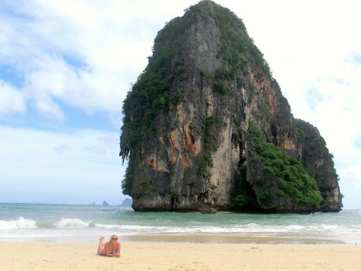 Railay: spiaggia incontaminata in Thailandia