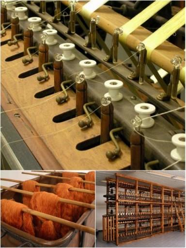 Alcune immagini del museo della seta (Google Pictures)