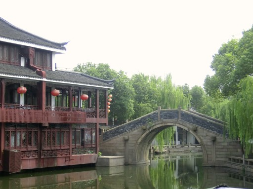 zhouzhuang in cina, città galleggiante, venezia della cina