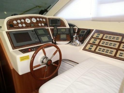 yacht, plancia di comando, barca