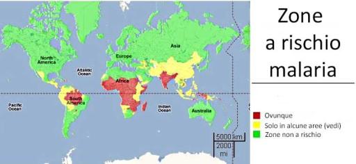 mappa malaria