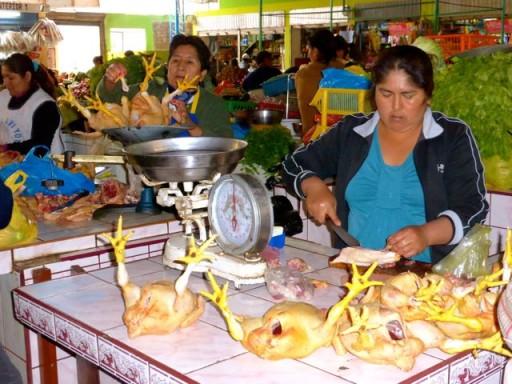 mercato perù, mercato nazca, polleria perù