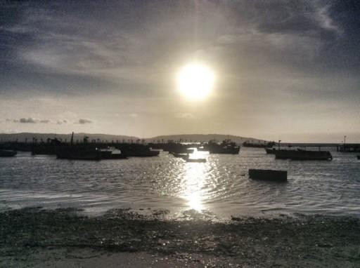 tramonto Paracas, tramonto Perù