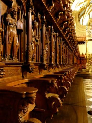 coro ligneo cattedrale lima