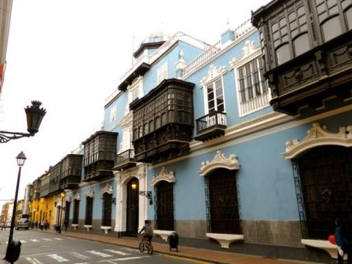 calle lima centro historico
