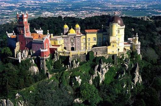 palacio de pena sintra portugal