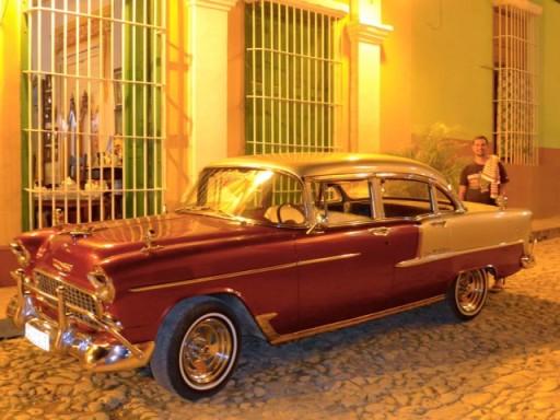 trinidad, auto cubane