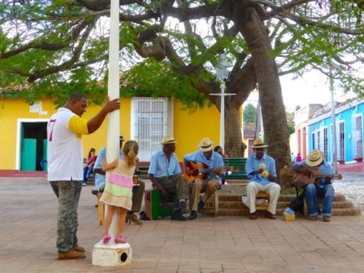 band cubana, trinidad