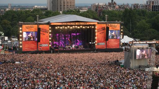 L'Hard Rock Calling di Londra si tiene ad Hyde Park