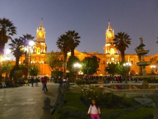 Arequipa, plaza de armas arequipa