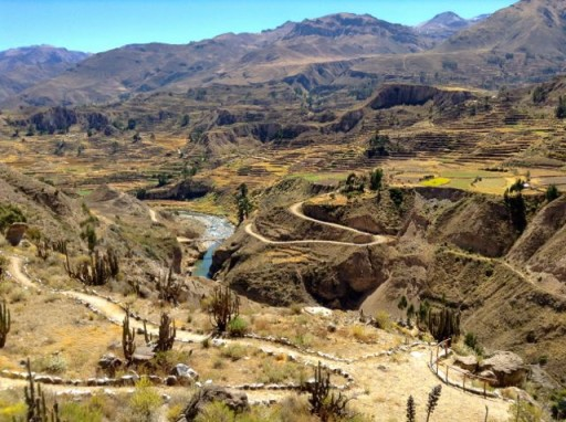 Canyon del Colca, canyon perù
