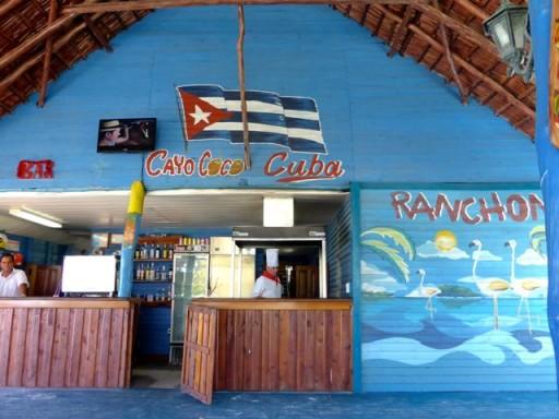 spiaggia cayo coco, ristorante cayo coco