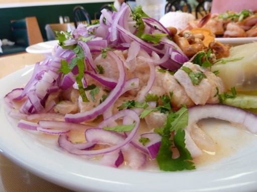 ceviche, piatto peruviano