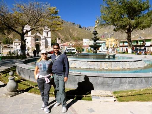 chivay, piazza perù