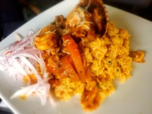 cucina peruviana, paella peruviana