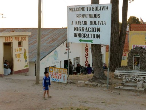 frontiera bolivia perù