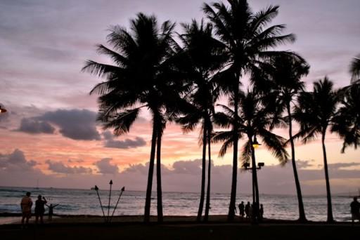 Tramonto Honolulu