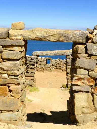 rovine bolivia, titicaca, isla del sol