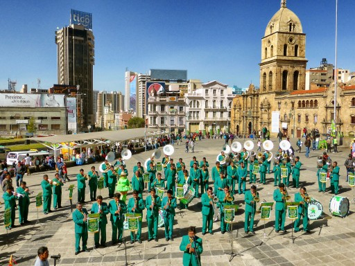 banda musicale la paz