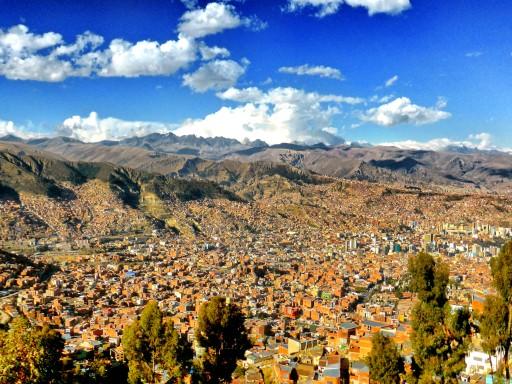 la paz, capitale bolivia
