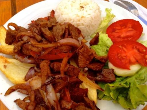 lomo saltado, cucina peruviana