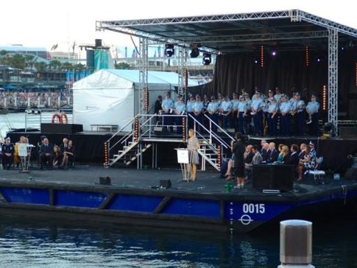 julia gillard, primo ministro australia, darlin harbour