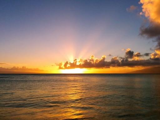 Tramonto Hawaii