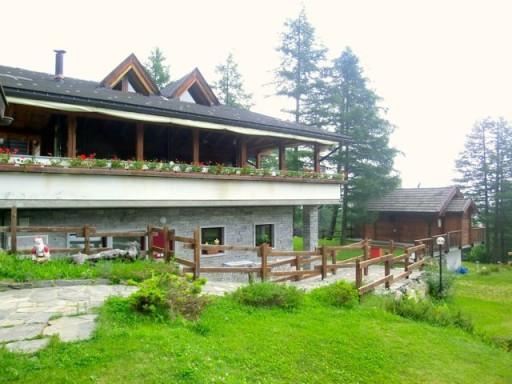 yolki palki, camping val bognanco, chalet montagna