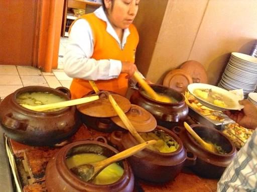 zuppe peruviane, cucina criolla