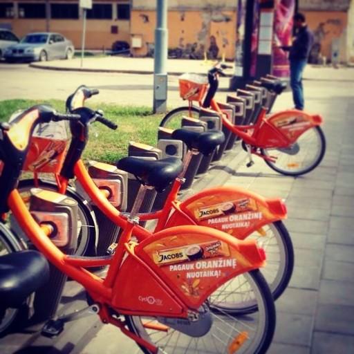 city bike vilnius