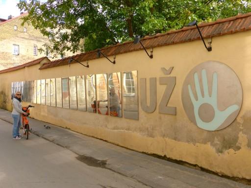 costituzione di Uzupis, uzupis, quartiere artisti vilnius
