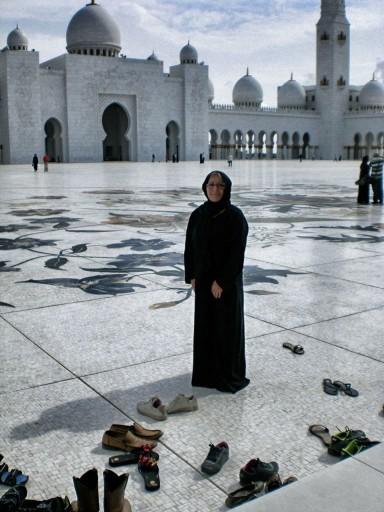 moschea oman, tunica moschea oman