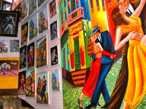 quadri argentini, artigianato argentina