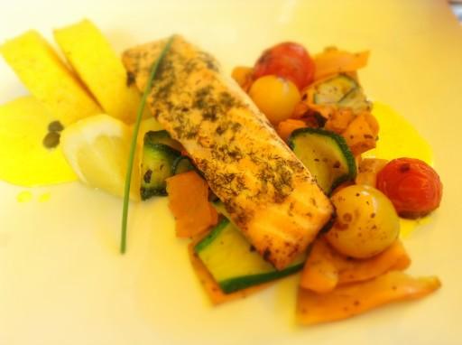 piatto salmone lituano