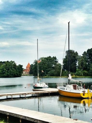 castello di trakai barche a vela