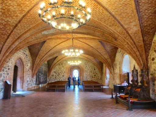 sala del trono trakai