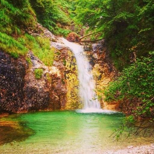 cascata caorame