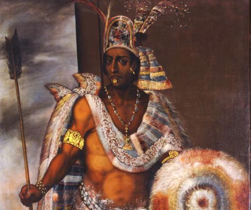 L'imperatore azteco Montezuma, la cui maledizione colpisce ancora oggi
