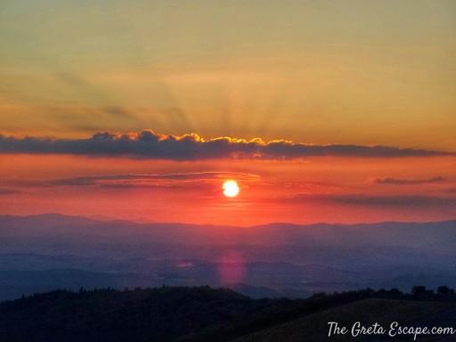 tramonto chianti