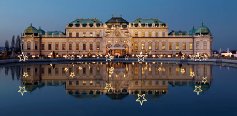 """Schloss Belvedere: un mercatino """"artistico"""""""