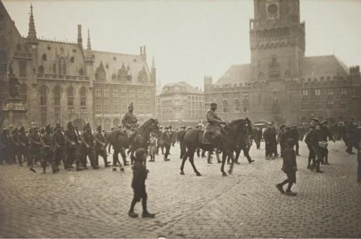 Bruges dopo l'invasione tedesca- © Brugge in Groote Oorlog 1418