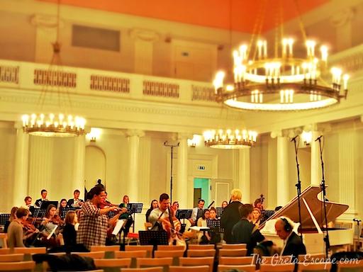 concerto università Tartu