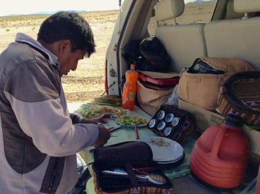 pranzo al Salar