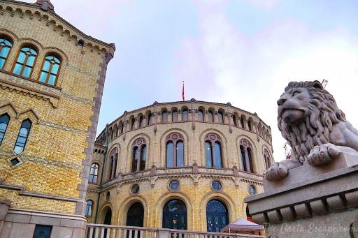 Il Parlamento di Oslo