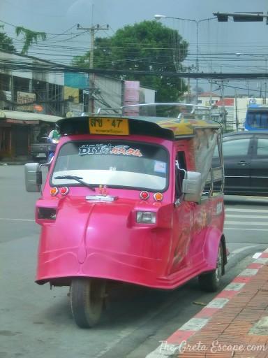 Tuc Tuc di Ayutthaya